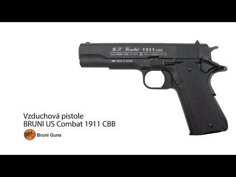 Vzduchová pistole Bruni US Combat 1911 CBB