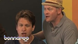 Pete Holmes & David Koechner Sing A Song About Their Friendship | Bonnaroo365