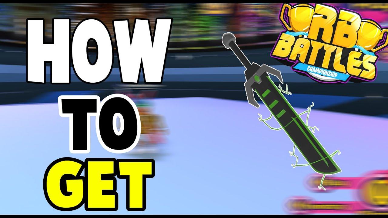 Godthegamer - How to get DJ'S SWORD OF AGILITY in ROBEATS! RB BATTLES