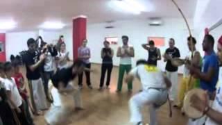 Capoeira Sardegna - prof Kustelinha (Oxossi) e Gunga (Karibé)