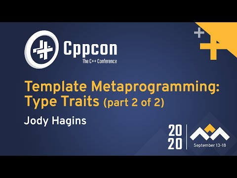 Template Metaprogramming: Type Traits (part 2 of 2)