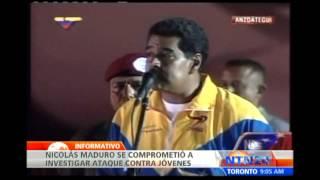 Presuntos seguidores del oficialismo habrían atacado a jóvenes de la oposición venezolana
