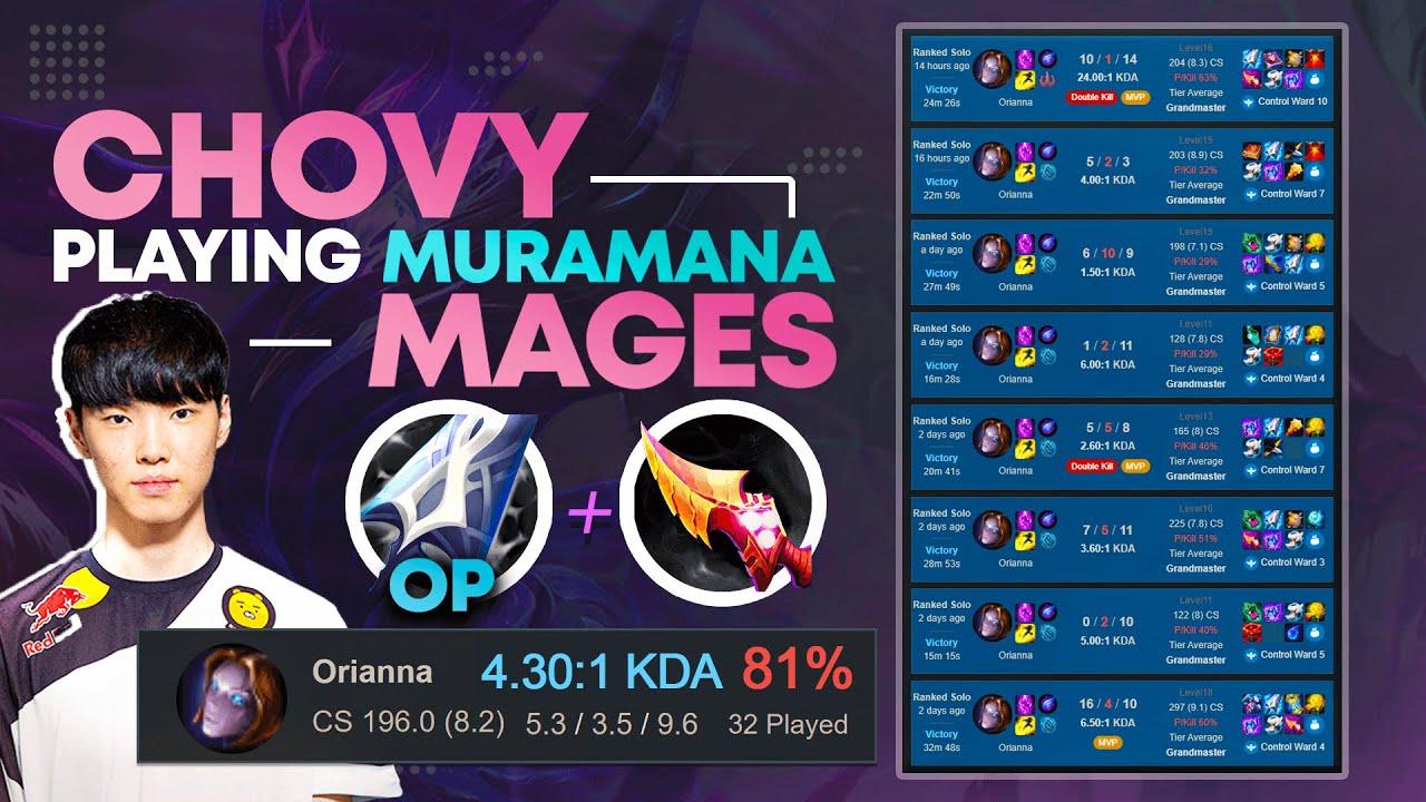 midbeast - This 81% Win Rate MURAMANA Build Is Taking Over KOREAN CHALLENGER!