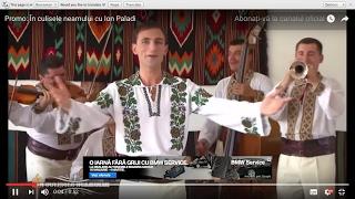 """Promo:  """"În culisele neamului"""" cu Ion Paladi"""