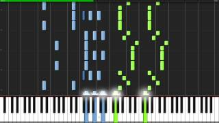 Can Can - Orpheus in the Underworld [Piano Tutorial] (Synthesia)