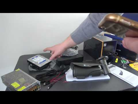 Unboxing Kit supraveghere ICANSEE ICS-KU210-4MV