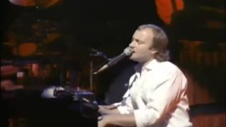 Phil Collins against all odds live 1985