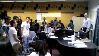Afula Israel Youth Orchestra Choir at Sci-Tech, VID 20110412 090727