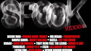 Spook Riddim (Instrumental) Black Shadow Records