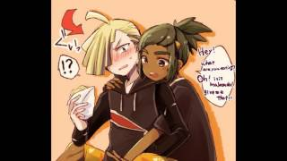 Gladion x Hau i dont need a reason