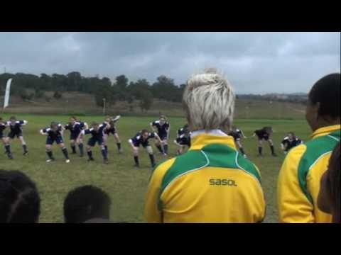 South Africa Women's National Team Enjoying Diski