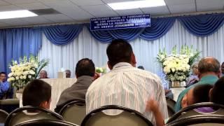 ALABANZA HNO MATIAS - CON AGUAS EN EL DESIERTO ( pueblo de Dios ) iglesia de Reseda CA