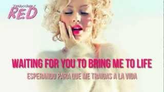 Christina Aguilera Blank Page (Ingles/Español)