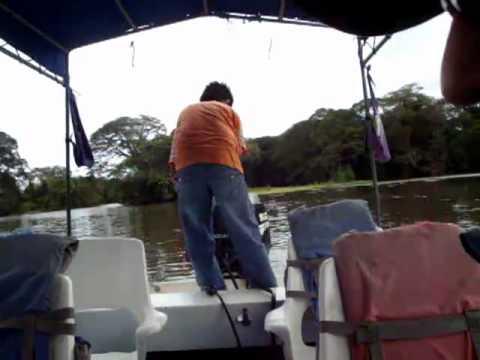 Isletas boat tour Granada, Nicaragua