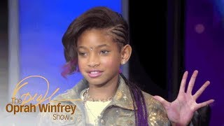 """Willow Smith Talks About Fame After """"Whip My Hair"""" Phenomenon   The Oprah Winfrey Show   OWN"""