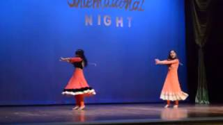 Bollywood fusion dance by International Students from Nepal at MUW (International Night 2017)