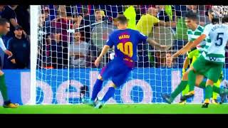Messi best skills and goals 2017-2018 - never gonna catch me.