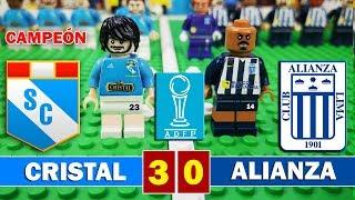 Sporting Cristal 3 - 0 Alianza Lima - LEGO - Final Torneo Descentralizado 2018 - Cristal Campeón