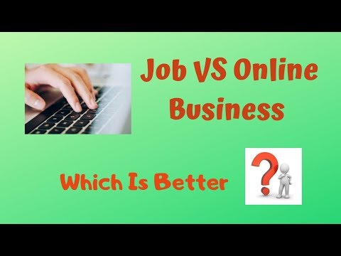 Download thumbnail for Job VS Online Business | Which Is Better | RD