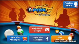 Login With Facebook On 8 ball Mod