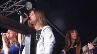 Band AG live auf der Hafenlust 2015