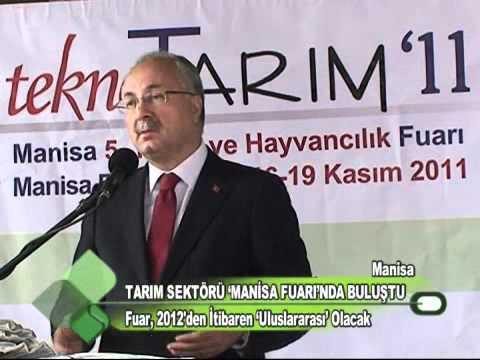 TARIM SEKTÖRÜ MANİSA FUARINDA BULUŞTU 21.11.2011.wmv