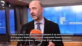 """L'ira di Moscovici contro Di Maio: """"Le sue affermazioni sulla Francia ostili e assurde"""""""