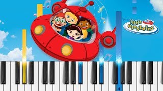 Little Einsteins Theme Song - Piano Tutorial