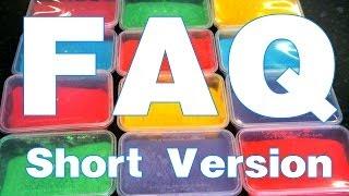 FAQ : Short Version : How to make Colored powder : Holi powder :