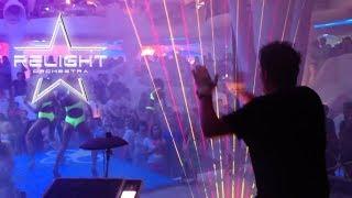 RELIGHT ORCHESTRA live in UKRAINE (Ibiza Club  - Odessa) 2014