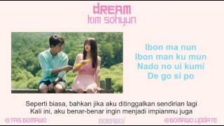 KIM SOHYUN - DREAM (Ost. Let's Fight Ghost) [MV, EASY LYRIC, LIRIK INDONESIA]
