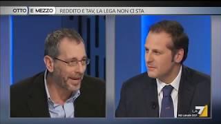 Otto e mezzo - Reddito e Tav, la Lega non ci sta (Puntata 13/02/2019)
