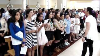 """2016 - """"Hossana Hey (Santo)"""" - Coro Juvenil de São Pedro do Mar, Quarteira"""