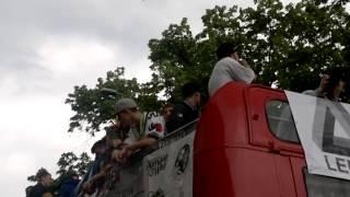 Marsz Wyzwolenia Konopii 2013  Yankes Maskot
