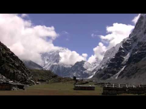 Nepal north face of Kanchenjunga Massif.m4v