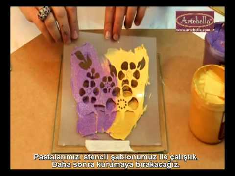 Artebella Rölyef Pastalar - Eğitmen Gülçin Göksu