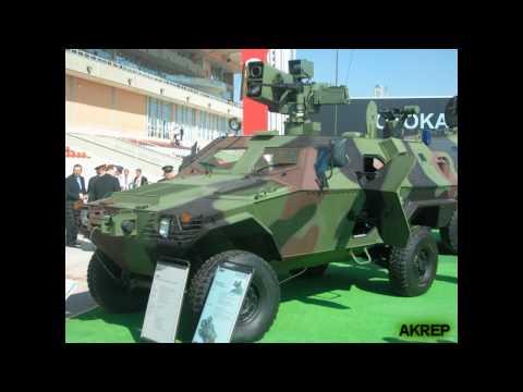 Akrep & Cobra - ( Türk Ordusunun iki müthiş zırhlısı ) - Otokar yapımı