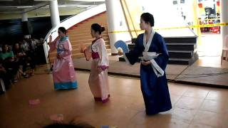 Geisha Fan Dance