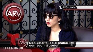 Juan Gabriel dejó preparado dúo con Mon Laferte | Al Rojo Vivo | Telemundo