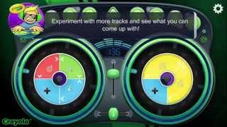Crayola DJ Tutorial - Dance Mix