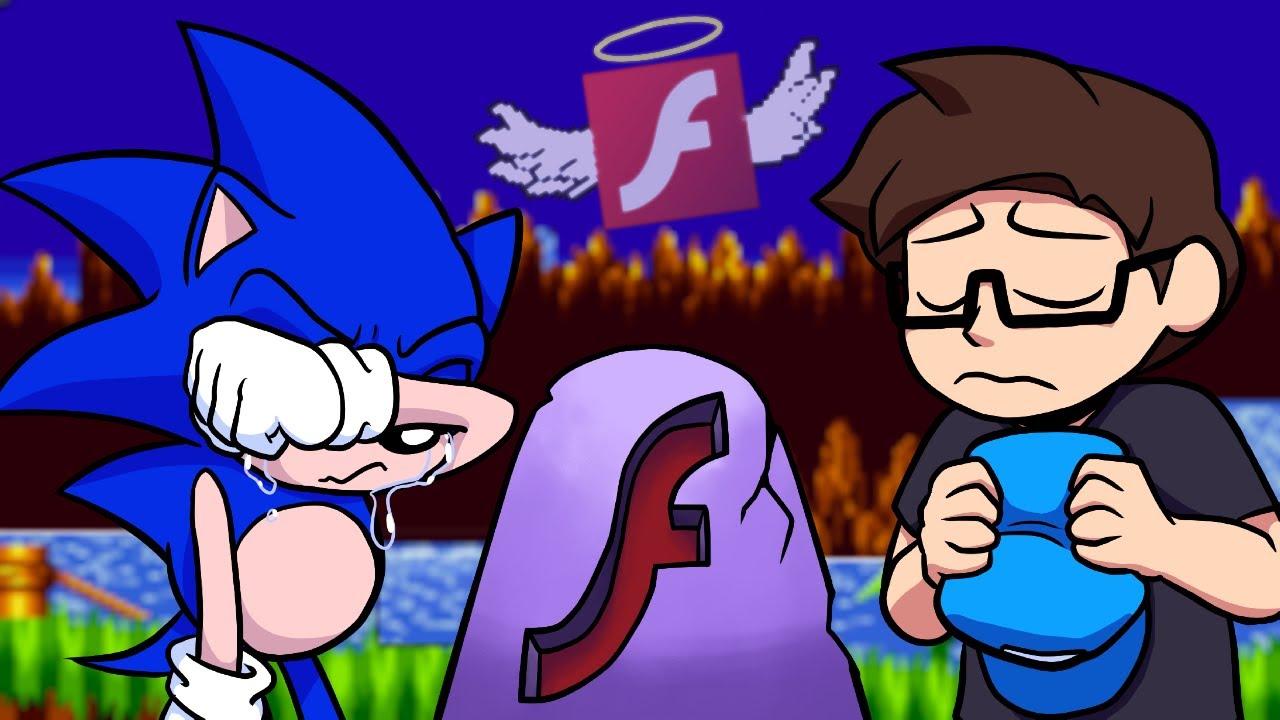 Garrulous64 - 5 Obscure Sonic Flash Games!