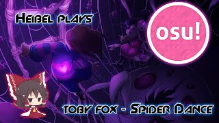 Osu! - toby fox - Undertale Spider Dance (Dual Mix) [All proceeds go to REAL spiders]