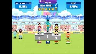 100m Sprint! + 800m Race! | Sports Hero | bestRojanboy