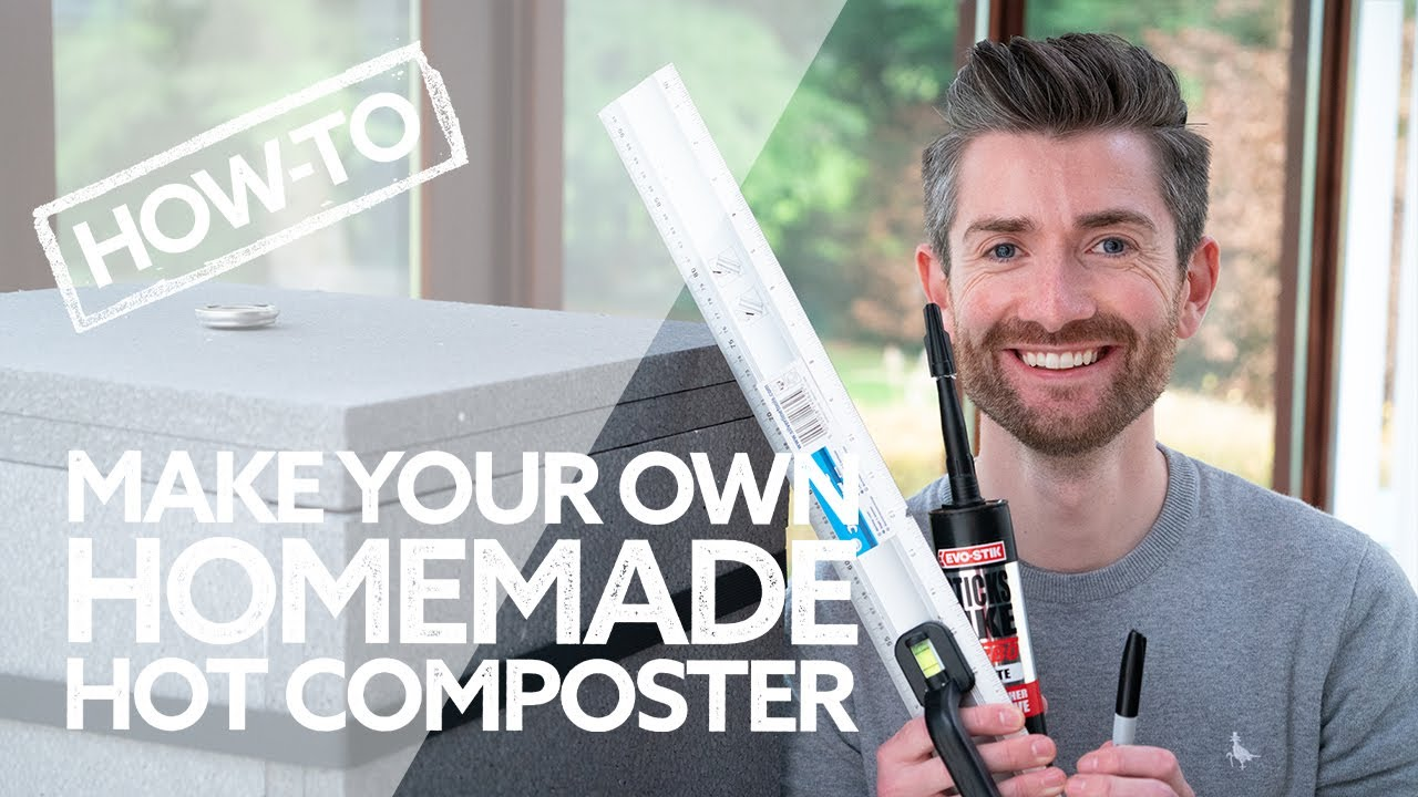 How To Make Your Own Homemade Hot Composter | Save Money, Make Compost… FAST!
