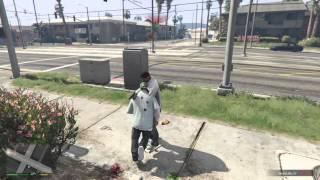 Grand Theft Auto V - Tyler, The Creator Voiced NPC Easter Egg
