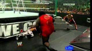 WWE - Codebreaker and Spear on Mark Henry - HD