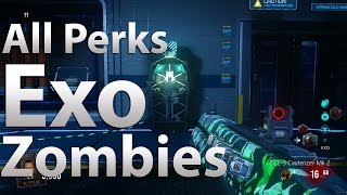 All 'Exo Abilities'/Perk Locations in Exo Zombies Outbreak (Advanced Warfare Exo Zombies)