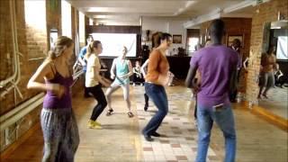 KUDURO afro dance, afro-house workshop @ uanga