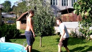 Ice bucket challenge vs Sparta