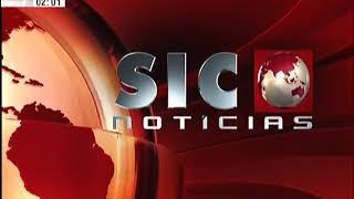 Fecho noticiário SIC Notícias 2011 - novo tema